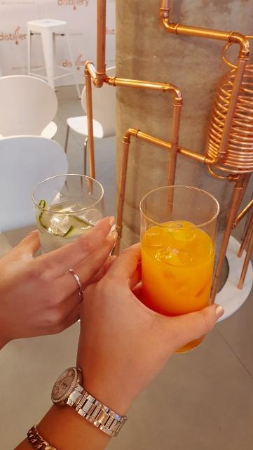 Glamour x Avon Distillery clean drinks